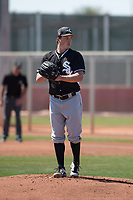 Chicago White Sox starting pitcher Jordan Stephens (29) during a Minor League Spring Training game against the Cincinnati Reds at the Cincinnati Reds Training Complex on March 28, 2018 in Goodyear, Arizona. (Zachary Lucy/Four Seam Images)