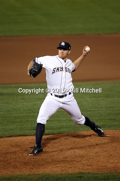 Jed Bradley -2015 Colorado Springs Sky Sox (Bill Mitchell)