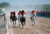 Horseracing in Bahrain.