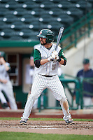 Fort Wayne TinCaps second baseman Peter Van Gansen (5) during the second game of a doubleheader against the Great Lakes Loons on May 11, 2016 at Parkview Field in Fort Wayne, Indiana.  Great Lakes defeated Fort Wayne 5-0.  (Mike Janes/Four Seam Images)