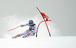 December 1, 2017:  Austria's, Matthias Mayer #1, attacks a fast and challenging race course in the Super G competition during the FIS Audi Birds of Prey World Cup, Beaver Creek, Colorado.