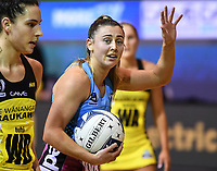 4th July 2020, Auckland, New Zealand;  Gina Crampton.<br /> Central Pulse versus Southern Steel. ANZ Premiership Netball. Auckland Netball Centre, Saturday 4 July 2020.
