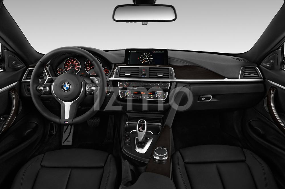 2019 Bmw 4 Series 440i M Sport Door Coupe Dashboard Stockphoto