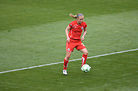 Washington Freedom's Becky Sauerbrunn. The LA Sol defeated the Washington Freedom 2-0 in the opening game of Womens Professional Soccer at Home Depot Center stadium on Sunday March 29, 2009.  .Photo by Michael Janosz