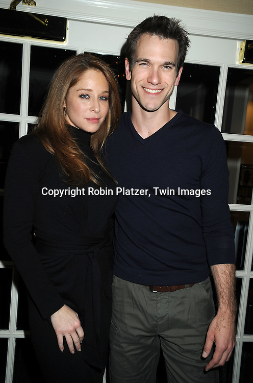 Jamie Luner and Adam Mayfield
