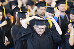 Graduates turn their tassels during the Western Nevada College 2017 Commencement in Carson City, Nev. on Monday, May 22, 2017.  <br />