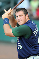 June 19, 2009: Infielder/outfielder Brian Pellegrini (45) of the Lexington Legends, Class A affiliate of the Houston Astros, in a game against the Greenville Drive at Fluor Field at the West End in Greenville, S.C. Photo by: Tom Priddy/Four Seam Images