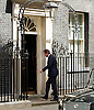 David Cameron <br /> arrives back at Downing Street after meetings at The House of Commons to appoint new government minister<br /> 11th May 2015 <br /> <br /> David Cameron MP<br /> Prime Minister <br /> <br /> Photograph by Elliott Franks <br /> Image licensed to Elliott Franks Photography Services