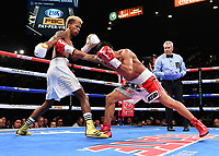 LAS VEGAS - NOVEMBER 23: Leduan Barthelemy v Eduardo Ramirez on the FOX Sports PBC Pay-Per-View Fight Night at the MGM Grand Garden Arena on November 23, 2019 in Las Vegas, Nevada. (Photo by Frank Micelotta/Fox Sports/PictureGroup)