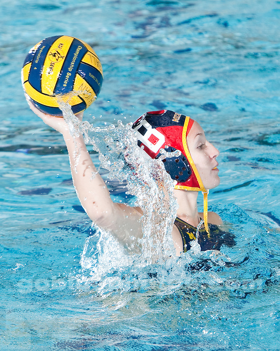4/24/2010 Women's water polo vs. Gannon during the first round of the CWPA Tournament at Canham Natatorium.