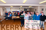 No  More Turbines : Pictured at the public meeting in Ballylongford Community centre on Saturday night last to protest against the planning application for more turbines in the Ballylongford area were Niall O'Connor, Brian Finnucane, Neilus & Helen O'Connor, Oisin Healy, Peter George, Martin Stack, Tony Uljee, Barry Healy & Nigel Freeman.