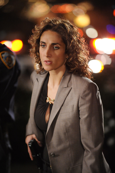 """My Name Is Mac Taylor"" -- Stella (Melina Kanakaredes) and the team, tackles their most unusual case yet: two victims, within two weeks, both named 'Mac Taylor', on CSI:  NY's 100th episode Wednesday, Nov 19 (10:00-11:00 PM, ET/PT) on the CBS Television Network.  .Photo: David M. Russell/CBS.©2008 CBS Broadcasting Inc. All Rights Reserved."