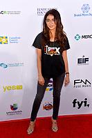 SANTA MONICA, CA. September 07, 2018: Sarah Hyland at the 2018 Stand Up To Cancer fundraiser at Barker Hangar, Santa Monica Airport.