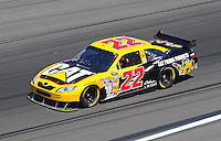 Feb 29, 2008; Las Vegas, NV, USA; NASCAR Sprint Cup Series driver Dave Blaney during practice for the UAW Dodge 400 at Las Vegas Motor Speedway. Mandatory Credit: Mark J. Rebilas-US PRESSWIRE