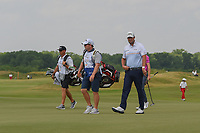 Marc Leishman (AUS) looks over the green on 3 during round 3 of the AT&amp;T Byron Nelson, Trinity Forest Golf Club, at Dallas, Texas, USA. 5/19/2018.<br /> Picture: Golffile | Ken Murray<br /> <br /> <br /> All photo usage must carry mandatory copyright credit (&copy; Golffile | Ken Murray)