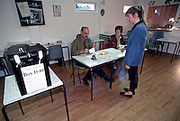 General Election Polling Station. This image may only be used to portray the subject in a positive manner..©shoutpictures.com..john@shoutpictures.com