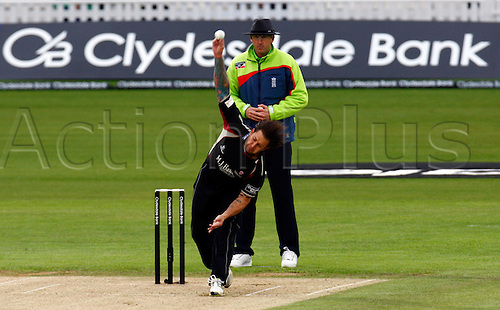 04.05.2012. Brit Oval, London, England.  Peter Trego of Somerset County Cricket during the Clydesdale Bank Pro40 match between Surrey and Somerset  at The Brit Oval on May 04, 2012 in London, England.........................