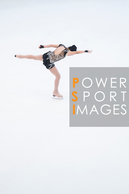 Sofia Issbella Rome Nagrampa during the Asian Junior Figure Skating Challenge 2015 on October 07, 2015 in Hong Kong, China. Photo by Moses Ng/ Power Sport Images