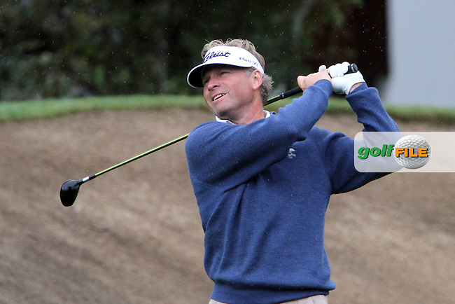 Mathias Gronberg (SWE) on the 15th on Day 2 of the Omega European Masters 2012, Golf Club Crans-Sur-Sierre, Crans Montana, Switzerland, 31/8/12...(Photo Jenny Matthews/www.golffile.ie)