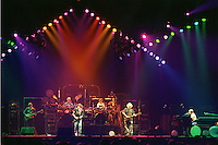 "The Grateful Dead performing ""Standing on the Moon"" at the Nassau Coliseum, Uniondale NY, 30 March 1990. Wide Lighting Look Image Capture."