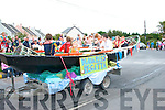 Floats in the Castlegregory summer festival parade