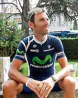 Alejandro Valverde in press conference during the rest day of La Vuelta 2012.August 27,2012. (ALTERPHOTOS/Paola Otero) /NortePhoto.com<br />
