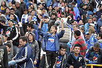 BOGOTÁ -COLOMBIA, 03-06-2013. Aspecto del encuentro entre Millonarios y Alianza Petrolera en la fecha 18 de la Liga Postobón 2013-1 realizado en el estadio El Campin en Bogotá./ Aspect of match between Millonarios and Alianza Petrolera during 18th date of Postobon  League 2013-1 at El Campin stadium in Bogota. Photo: VizzorImage/STR