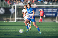 Allston, MA - Sunday, May 22, 2016:  Boston Breakers midfielder Angela Salem (26) during a regular season National Women's Soccer League (NWSL) match at Jordan Field.
