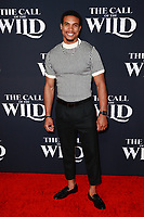 HOLLYWOOD, CA - FEBRUARY 13; Tarzan Davis at The Call Of The Wild World Premiere on February 13, 2020 at El Capitan Theater in Hollywood, California. Credit: Tony Forte/MediaPunch