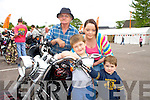 Pictured at the Ireland Bike Fest at the Gleneagle Hotel, Killarney over the weekend were Josh and Ethan Hewerdine with Michelle and Francis O'Brien, all Killarney.