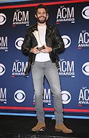 07 April 2019 - Las Vegas, NV - Thomas Rhett. 54th Annual ACM Awards Press Room at MGM Grand Garden Arena. Photo Credit: MJT/AdMedia