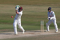 Steven Davies hits 4 runs for Somerset during Essex CCC vs Somerset CCC, Specsavers County Championship Division 1 Cricket at The Cloudfm County Ground on 28th June 2018