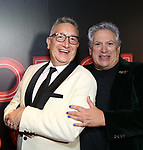 """Moises Kaufman and Harvey Fierstein  attends the Broadway Opening Night After Party for """"Torch Song"""" at Sony Hall on November 1, 2018 in New York City."""