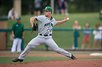 Dartmouth Big Green relief pitcher Max Hunter (19) delivers a pitch during a game against the USF Bulls on March 17, 2019 at USF Baseball Stadium in Tampa, Florida.  USF defeated Dartmouth 4-1.  (Mike Janes/Four Seam Images)