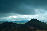 Mid Hill and Wester Hill from Eildon Hill North, Scottish Borders