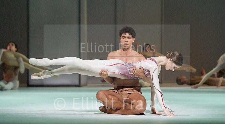 The Royal Ballet <br /> Triple bill of Kenneth Macmillan works<br /> at The Royal Opera House, Covent Garden, London, Great Britain <br /> pre-general rehearsal <br /> 16th November 2012 <br /> <br /> Concerto <br /> Choreography by Kenneth Macmillan <br /> Yuhui Choe<br /> Steven McRae <br /> Sarah Lamb<br /> Ryoichi Hirano<br /> Itziar Mendizabal<br /> <br /> Las Hermanas<br /> Choreography by Kenneth Macmillan<br /> Thiago Soares<br /> Elizabeth McGorian<br /> Zenaida Yanowsky<br /> Melissa Hamilton<br /> Laura Morera<br /> Jacqueline Clark<br /> Lara Turk <br /> <br /> Requiem <br /> Choreography Kenneth Macmillan<br /> <br /> Leanne Benjamin<br /> Rupert Pennefather<br /> Carlos Acosta<br /> Marianela Nunez<br /> Ricardo Cervera<br /> <br /> Photograph by Elliott Franks
