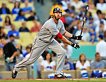 22 July 2011: Washington Nationals outfielder Jayson Werth in action against the Los Angeles Dodgers at Dodger Stadium in Los Angeles, California. The Nationals defeated the Dodgers 7-2 in their first meeting of the 2011 season. Mandatory Credit: Ed Wolfstein Photo