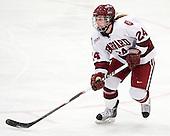 Leanna Coskren (Harvard - 24) - The Harvard University Crimson defeated the Northeastern University Huskies 1-0 to win the 2010 Beanpot on Tuesday, February 9, 2010, at the Bright Hockey Center in Cambridge, Massachusetts.