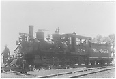 3/4 fireman's-side view of D&amp;RGW #278 switching.<br /> D&amp;RGW