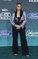 17 November 2019 - Las Vegas, NV - DaniLeigh. 2019 Soul Train Awards Red Carpet Arrivals at Orleans Arena. Photo Credit: MJT/AdMedia