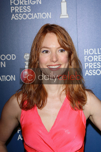 Alicia Witt<br /> at the Hollywood Foreign Press Association's 2013 Installation Luncheon, Beverly Hilton, Beverly Hills, CA 08-13-13<br /> David Edwards/DailyCeleb.Com 818-249-4998