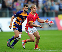 General action from the Red Bull 7s competition at half-time. Aviva Premiership match, between Bath Rugby and Worcester Warriors on September 17, 2016 at the Recreation Ground in Bath, England. Photo by: Patrick Khachfe / Onside Images
