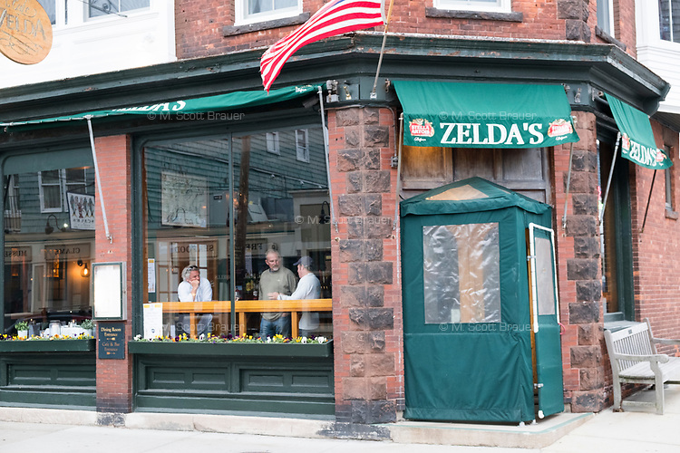 Zelda's (also known as Cafe Zelda) is a restaurant and pub located on Thames Street in Newport, Rhode Island, seen here on Wed., April 19, 2017.