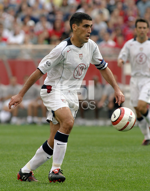 Claudio Reyna, World Cup qualifier between USA and El Salvador, 2004.