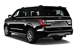 Car pictures of rear three quarter view of a 2018 Ford Expedition XLT MAX 4x2 5 Door SUV angular rear