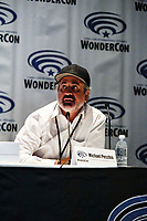Michael Pecchia at Wondercon in Anaheim Ca. March 31, 2019