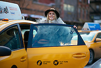 Sofie Valkiers attends Day 7 of New York Fashion Week on Feb 18, 2015 (Photo by Hunter Abrams/Guest of a Guest)