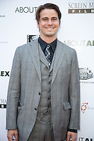 Jason Ritter attends  the Los Angeles premiere of ABOUT ALEX on August 6, 2014 (Photo by Crash/Guest of A Guest)