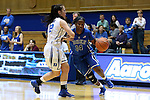 26 October 2014: Ka'lia Johnson (14) and Mercedes Riggs (12). The Duke University Blue Devils held their annual Blue-White Game at Cameron Indoor Stadium in Durham, North Carolina in preparation of the upcoming 2014-15 NCAA Division I Women's Basketball season.