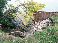 Erosion of Lake Huron shoreline at Blackwell Sidereal